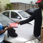 presenting airtel device for registration